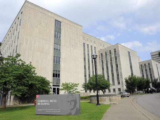 State officials are reassessing whether to demolish the Cordell Hull office building, which has stood next to the state Capitol since the 1950s.