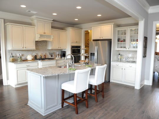 New Nolensville subdivision Sherwood Green Estates by Regent Homes opened its model home the weekend before Thanksgiving and has six other homes in construction, including three that will be ready for occupancy in about 45 days.