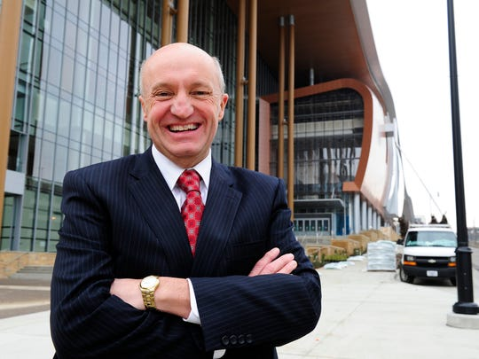Music City Center CEO Charles Starks made $399,000 in 2018 — $100,000 more than his highest-paid counterpart in comparable cities.
