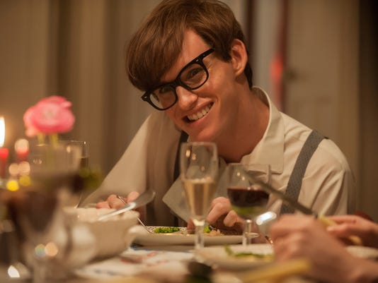 Redmayne in Theory of Everything