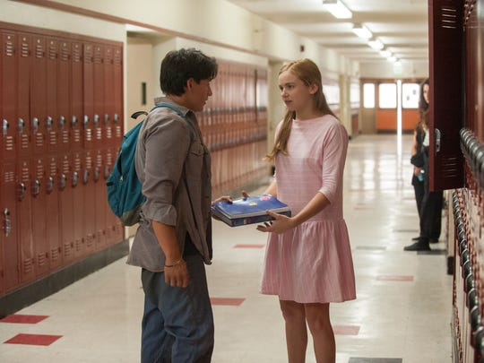 Carlos Pratts (left) and Morgan Saylor appear in a
