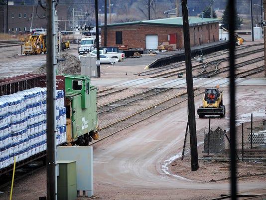 Downtown Railroad Switching Yard
