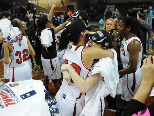California (Pa.)-California Baptisit-NCAA Division II Women's Basketball National Championship