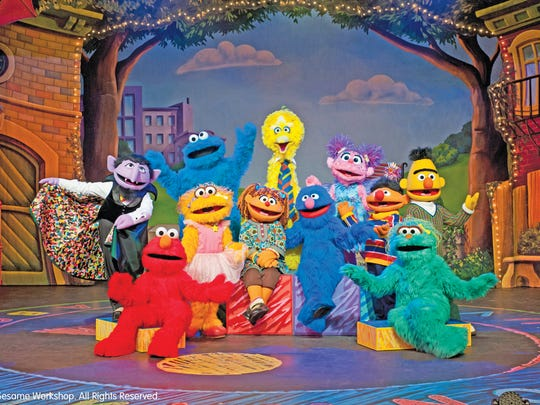 The cast of Sesame Street Live includes all your favorite characters.