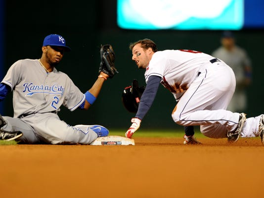 MLB: Kansas City Royals at Cleveland Indians-Game Two