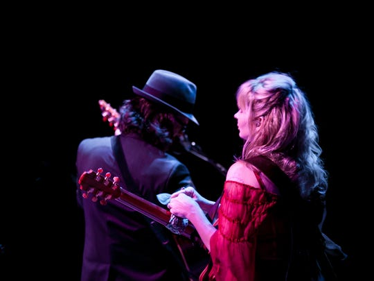 Over The Rhine has been performing for 25 years. The band is husband-and-wife team Linford Detweilier and Karin Bergquist. They iwll be at Irvington Town Hall on Saturday.