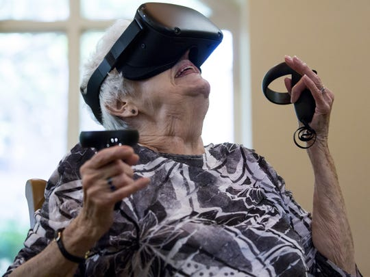 Assailing Columbus, VR for seniors, otter attack: News from around our 50 states