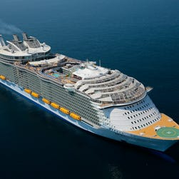 Royal Caribbean's Symphony of the Seas, new world's largest cruise ship, passes sea trials