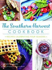 """""""The Southern Harvest Cookbook"""" by Cathy Cleary."""