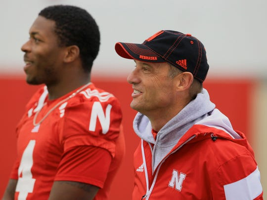 Nebraska quarterback Tommy Armstrong, with new coach