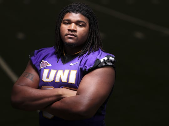 At No. 228 on the Sports Illustrated top 300 NFL Draft prospects list is UNI defensive tackle Xavier Williams.