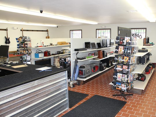 Pawn shops such as E-ways Sales and Pawn of Marshfield,