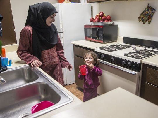 """Rimeh Thagreed says she and her family """"never dreamed of leaving Syria"""" before the conflict broke out."""