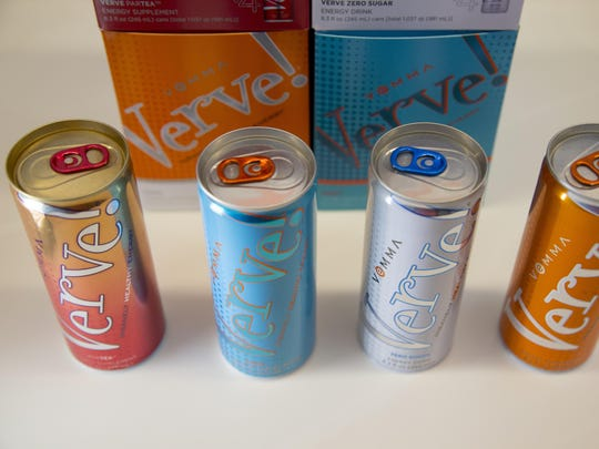 Detail shot of some of Vemma Nutrition Co. products.