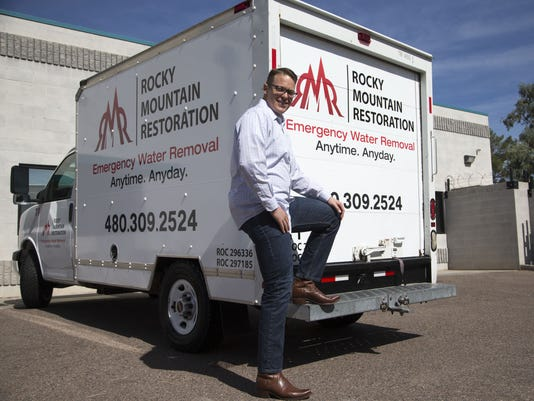 C.J. Smith, owner of Rocky Mountain Restoration