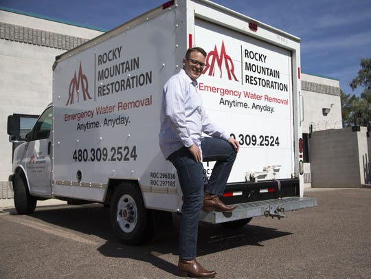 C.J. Smith, owner of Rocky Mountain Restoration, founded