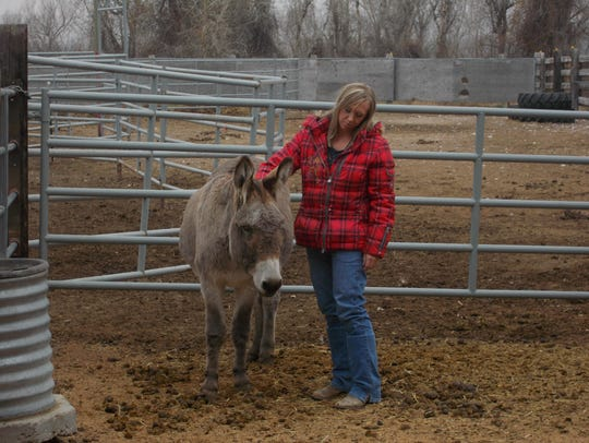 Jessica Hofer, a licensed addiction counselor and equine