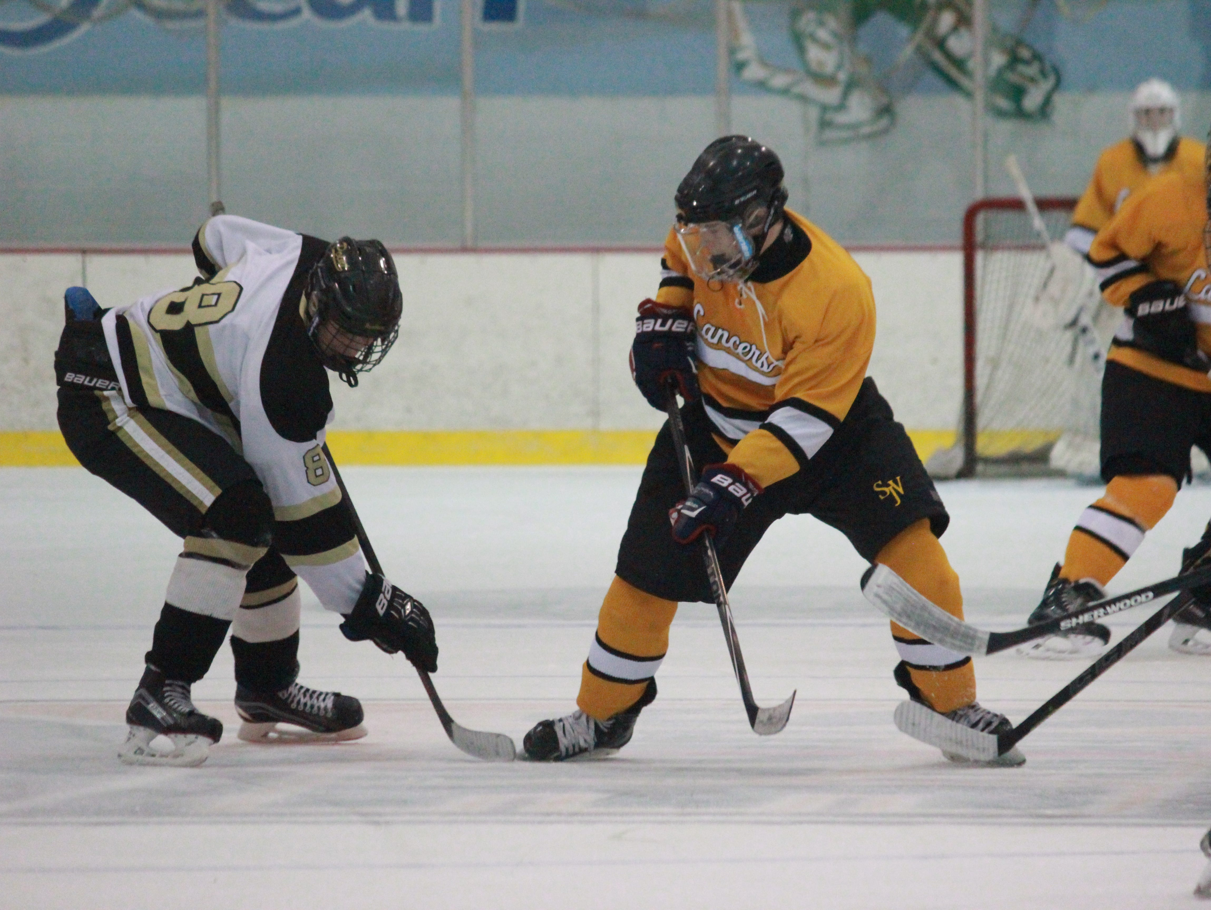St. John Vianney skated to a 3-2 victory over Point Boro on Friday at the Ocean Ice Palace.