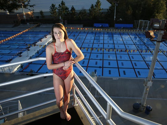 The All-Big Bend girls Diver of the Year is Chiles freshman Rainey Vause.