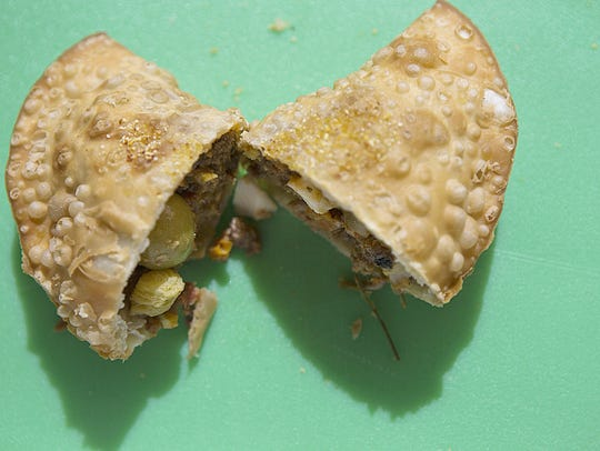 Republica Empanada features a large variety of savory