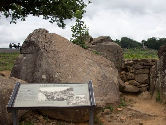 Devil's Den at Gettysburg National Military Park