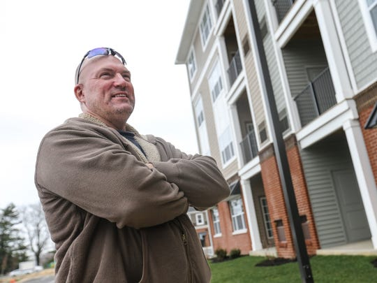 Bob Markley rents at The Retreat at Darley Green in Claymont  because he will be moving to the Philippines with his wife in five years. New Castle County is projected to need about 4,110 new rental units to accommodate projected demand over the next five years.