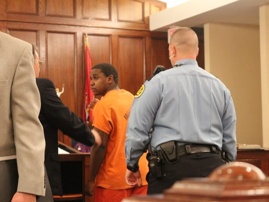 Malcolm Turner appears in Judge Ray Grimes' court in