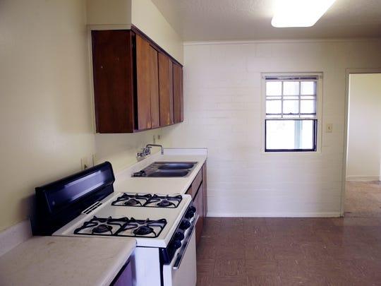 A view inside a unit in the Coffeit Lamoreaux housing