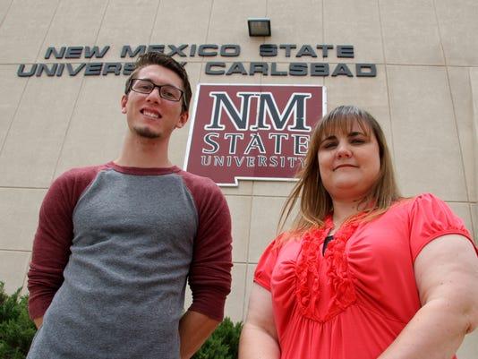 NMSU Carlsbad's outstanding students
