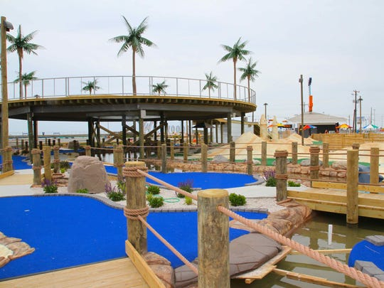 Morey's Piers' Starlux Mini Golf Course at Rio Grande and Ocean svenues in Wildwood will open May 27.