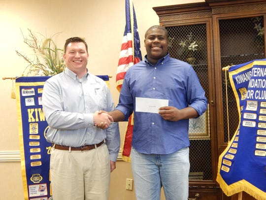 West Monroe Kiwanis Club President-elect Ryan Rigsby