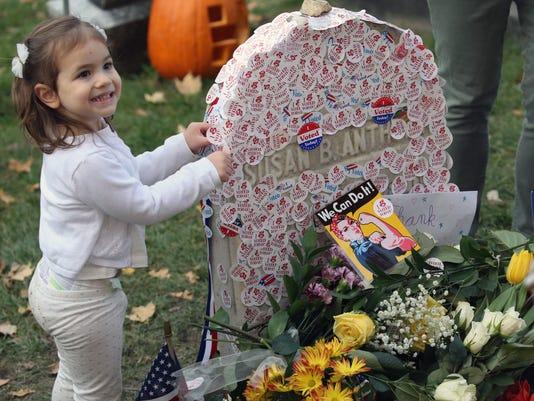 Susan B. Anthony grave site