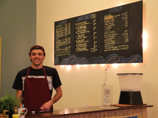 Jaysen Ridout, owner of Pandan Leaf food truck and