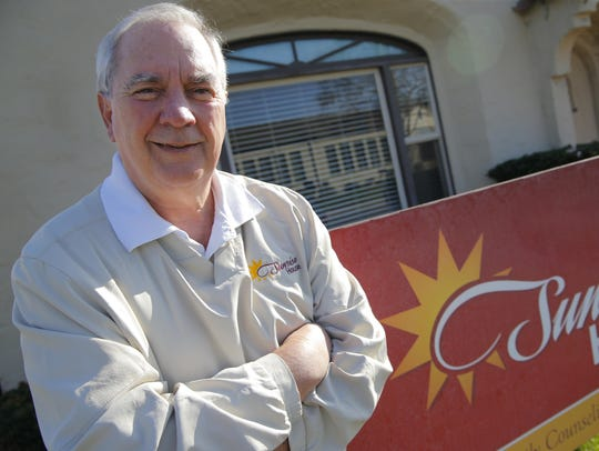 Jim Rear, director of the Sunrise House in Salinas