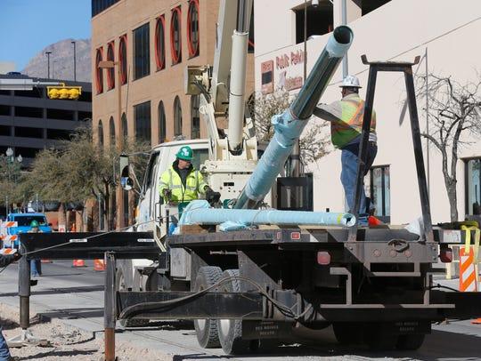 Electrical subcontractors from Paso del Norte Trackworks