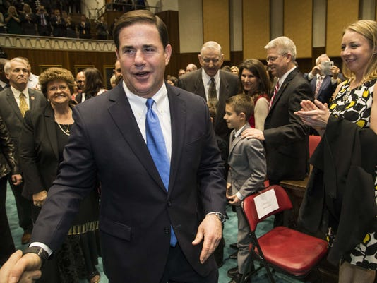 Ducey state of the state