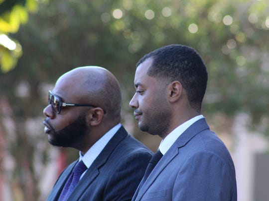 The state may rest on Wednesday in the Derrick Stafford trial, turning it over to defense attorneys Jonathan Goins (left) and Christopher LaCour (right). Stafford faces second-degree murder and attempted second-degree murder charges.