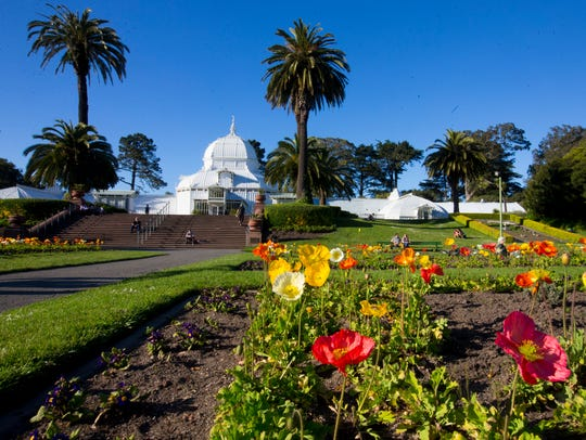 Conservatory of Flowers is the oldest building in Golden