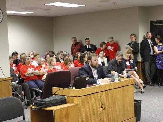 Jered Taylor testifies against gun-free zones