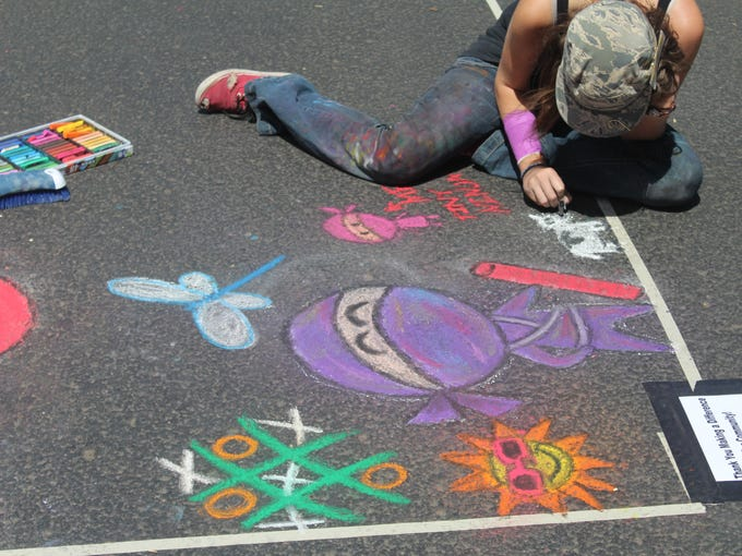 Want to take part in Chalk It Up! Prescott? Bring your