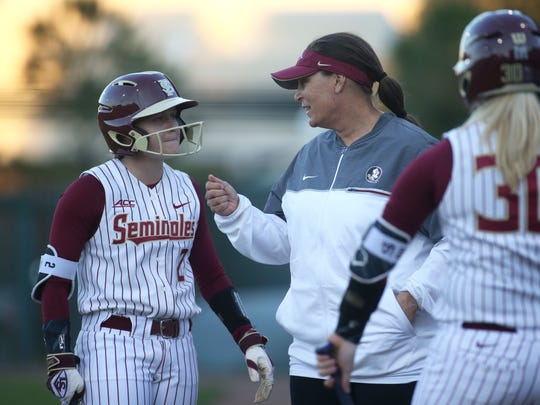 Florida State junior outfielder Morgan Klaevemann has developed a close relationship with Seminoles head coach Lonni Alameda during her time in Tallahassee.