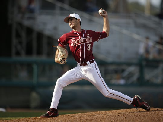 Alec Byrd has been a key contributor for Florida State's bullpen, which has been solid as a rock throughout his collegiate career.