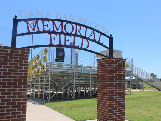 The Parkway High School softball field is named in