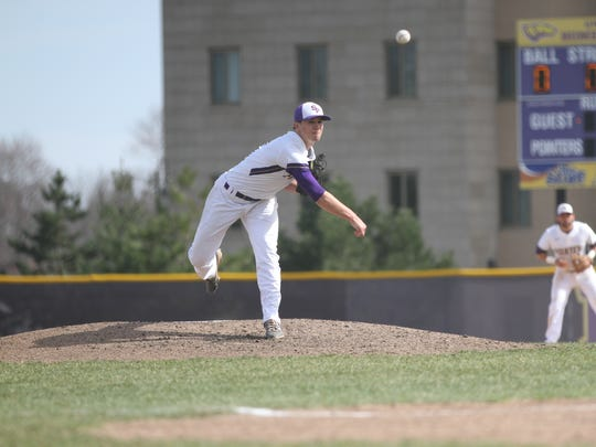 Alex Stodola scored a NWL contract with the Green Bay Bullfrogs after a strong sophomore season at UWSP.