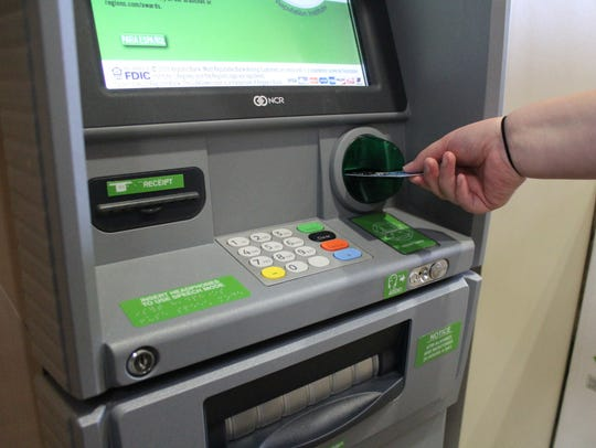 Card skimmers hidden inside or outside of a payment