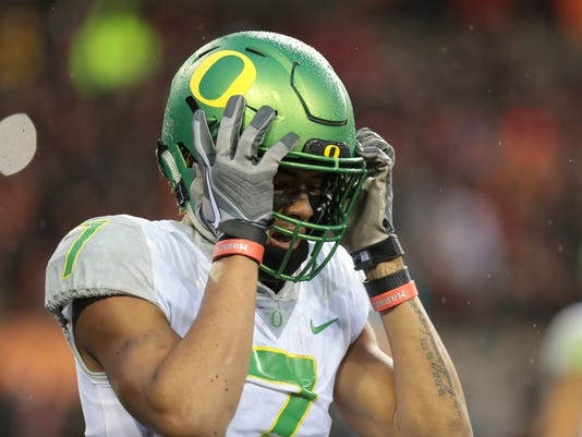 NCAA Football: Oregon at Oregon State