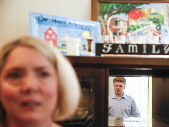 Cynthia Macluskie talks about her son Mark Macluskie,18,