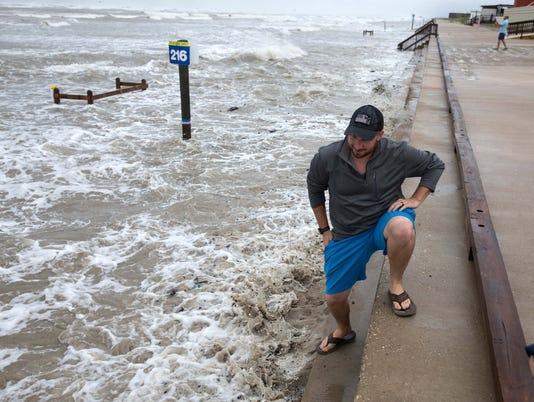 USP NEWS: HURRICANE HARVEY A USA TX