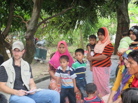 Daniel Sullivan interviews Rohingya refugees.