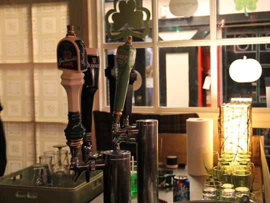 Taps at Sisters Irish Bistro feature Irish breweries,